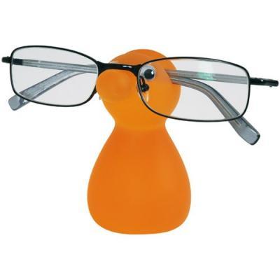 Porte lunettes orange
