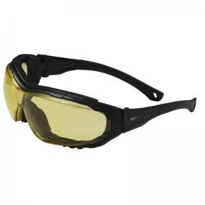 lunettes de protection à la vue teinté jaune