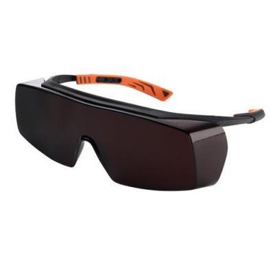 Sur-lunettes de protection teinté marron foncé