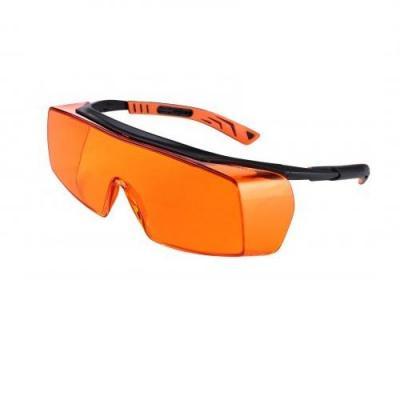 Sur-lunettes de protection teintée orange