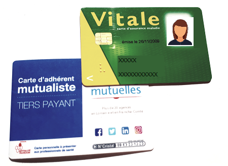 Carte secu mutuelle opticien