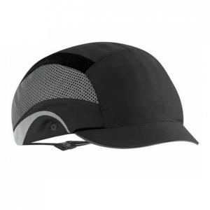 Casquette de securite hardcap aerolite micro visiere 2 5cm noire