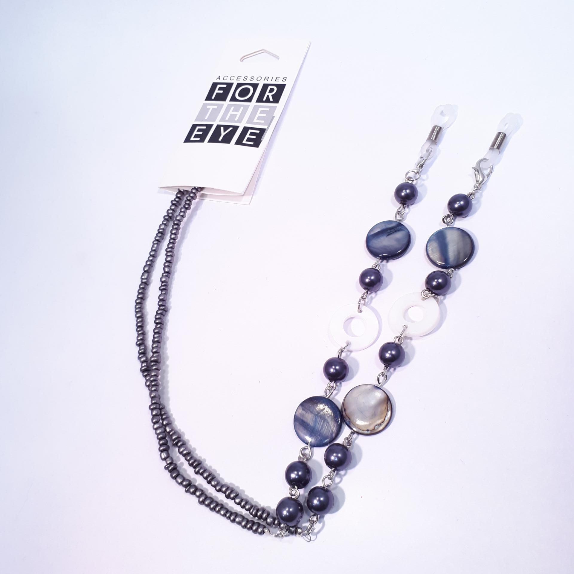 Chainette perles grises 1
