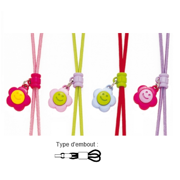 Cordon enfant pop flower