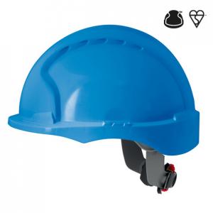 Evo3 visiere courte cremaillere bleu