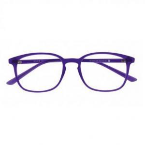 Lunette lumiere bleu oblue carre l violet