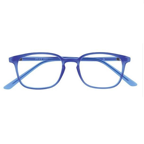 Lunette lumiere bleu oblue carre s bleu