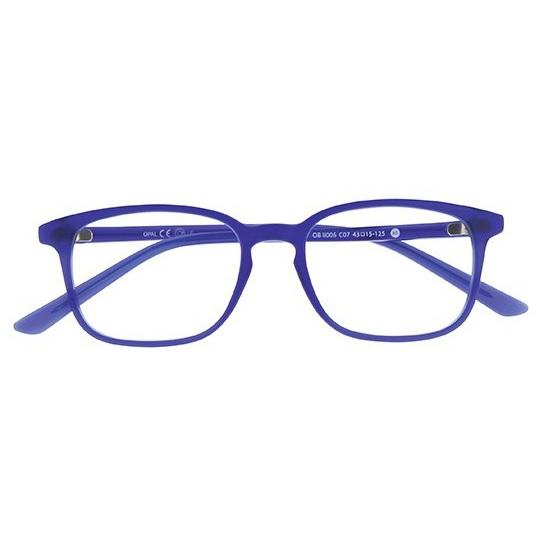 Lunette lumiere bleu oblue carre xs bleu