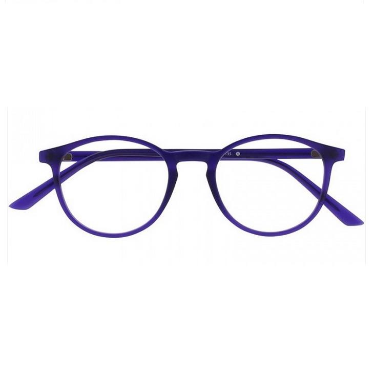 Lunette lumiere bleu oblue rond s violet