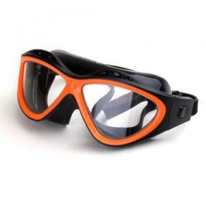 Lunettes de natation a la vue orange