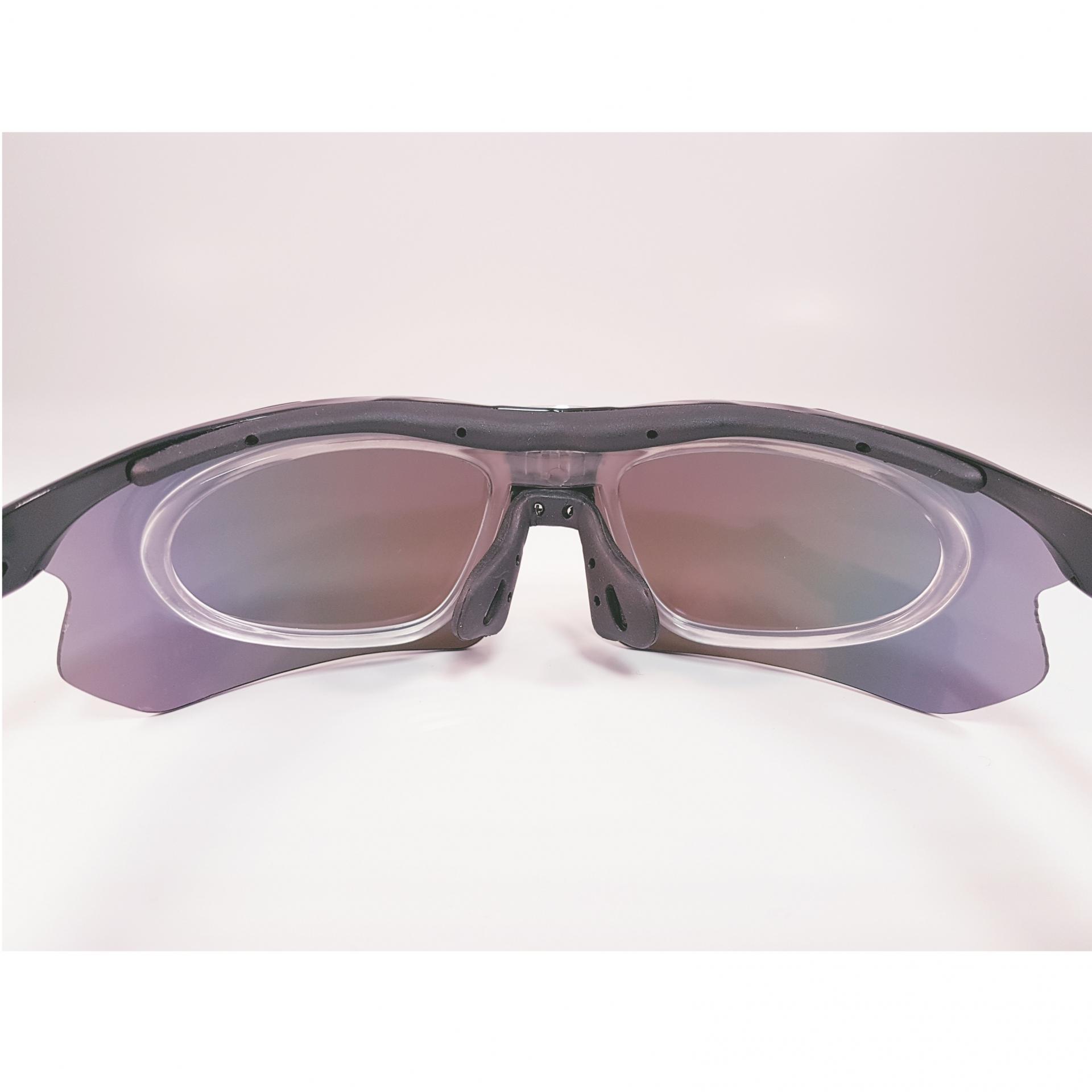 Lunettes de velo a la vue