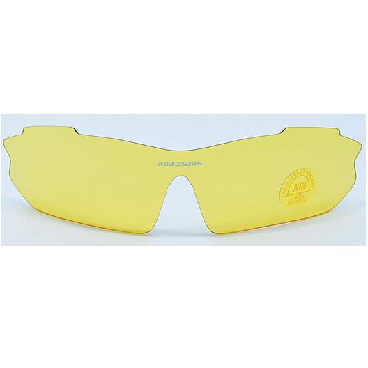 Lunettes velo robesbon face jaune