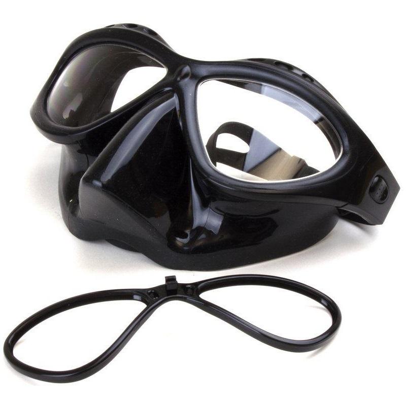 Masque de plongee a verres correcteurs pro