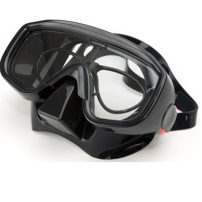 Masque de plongee avec verres correcteurs pro