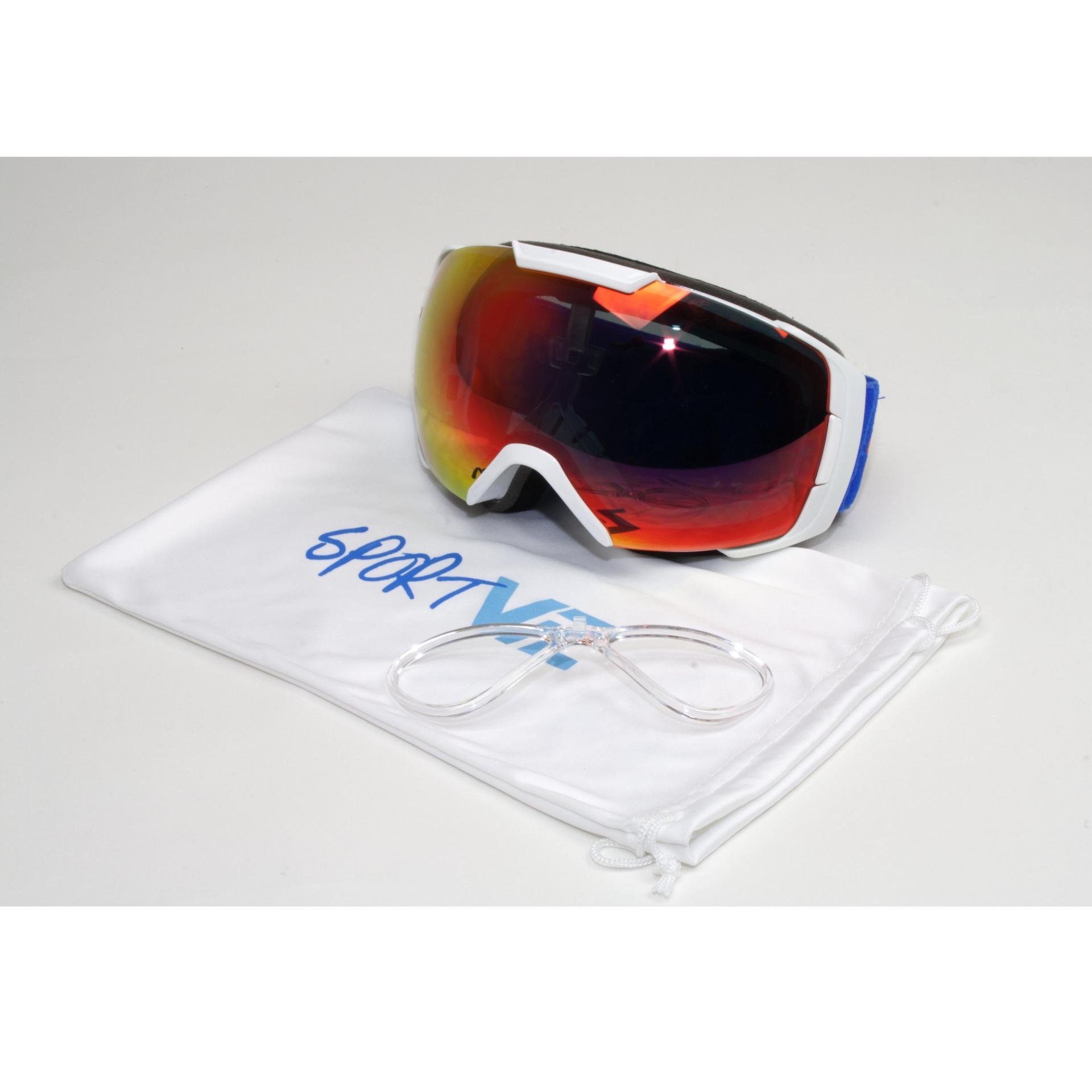 Masque de ski à verres correcteurs