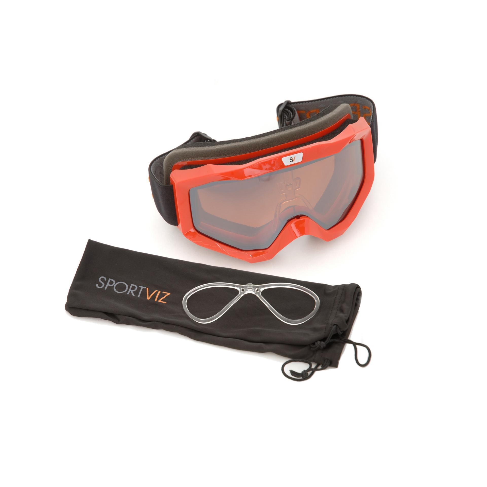 Masque de ski adaptable a la vue