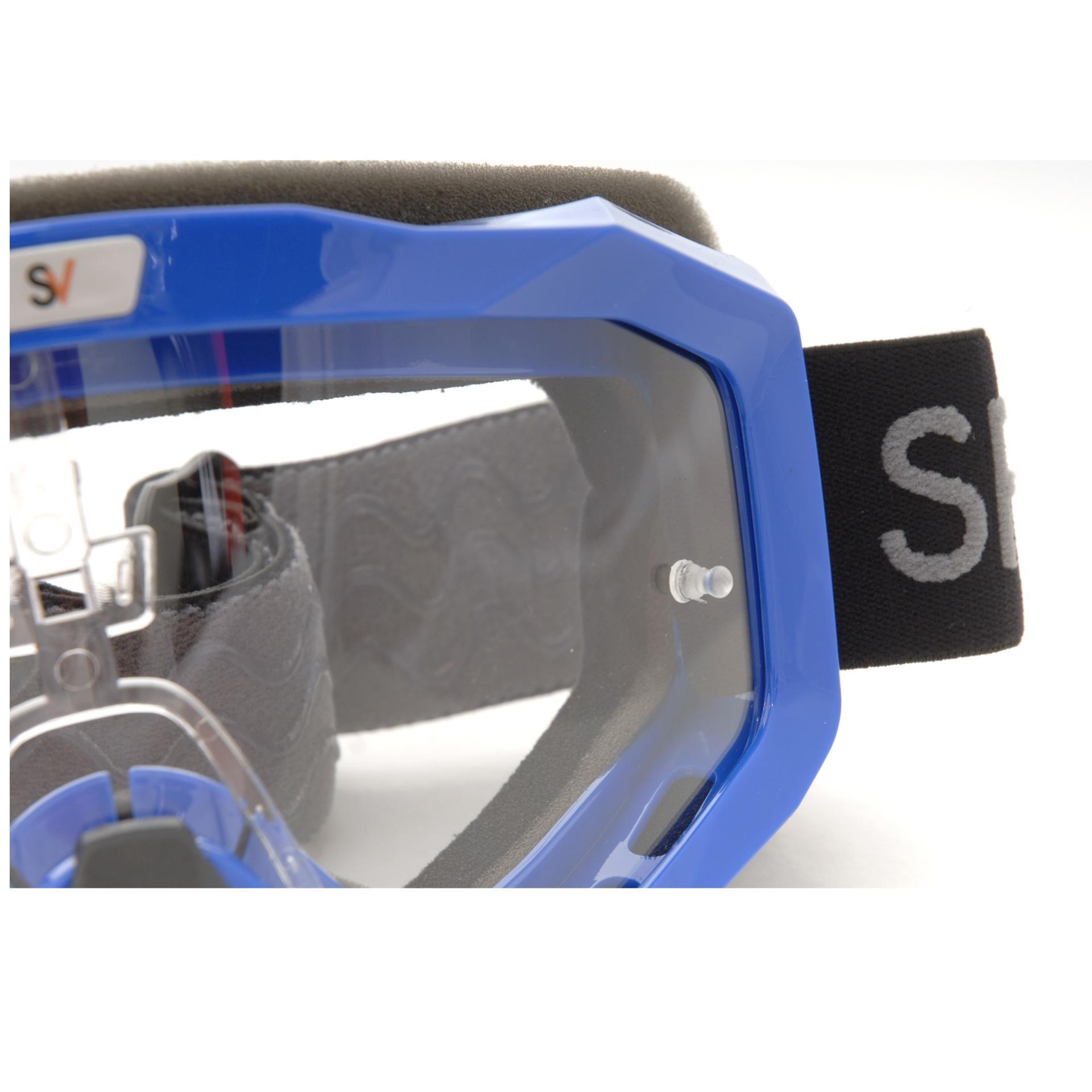 Masque moto à verres correcteurs