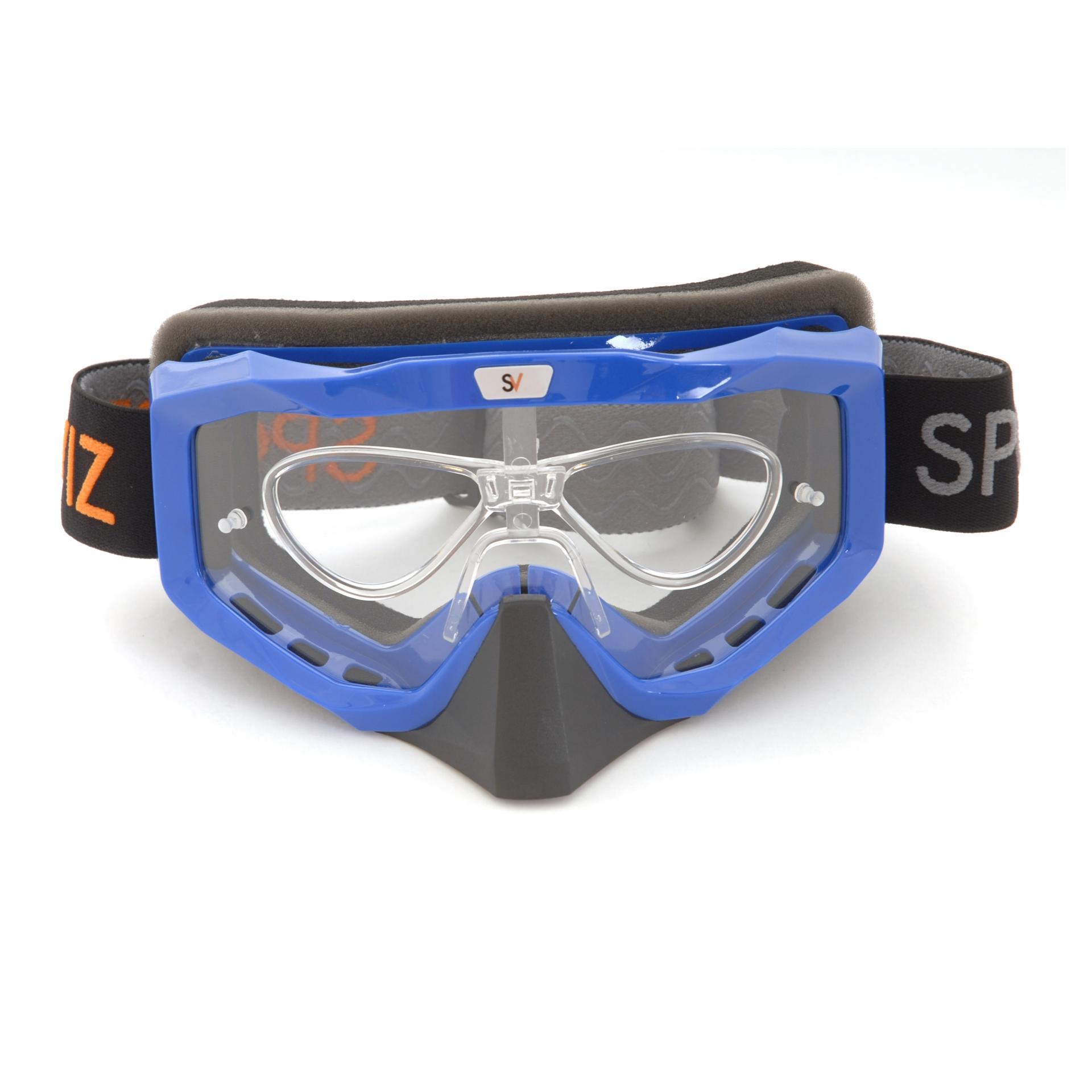 Masque moto avec kit optique