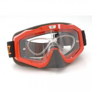Masque motocross pour porteur de lunettes