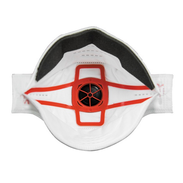 Masque respiratoire jetable valve springfit ffp3 jsp