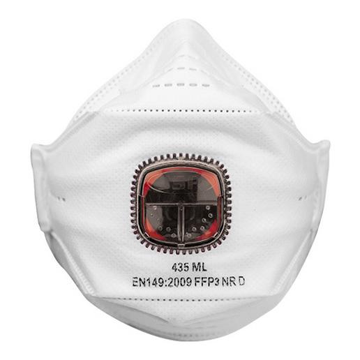 Masque respiratoire jetable valve springfit ffp3