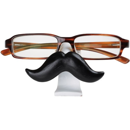 Porte lunettes moustache