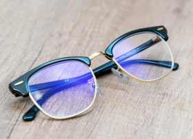 Verres de lunettes