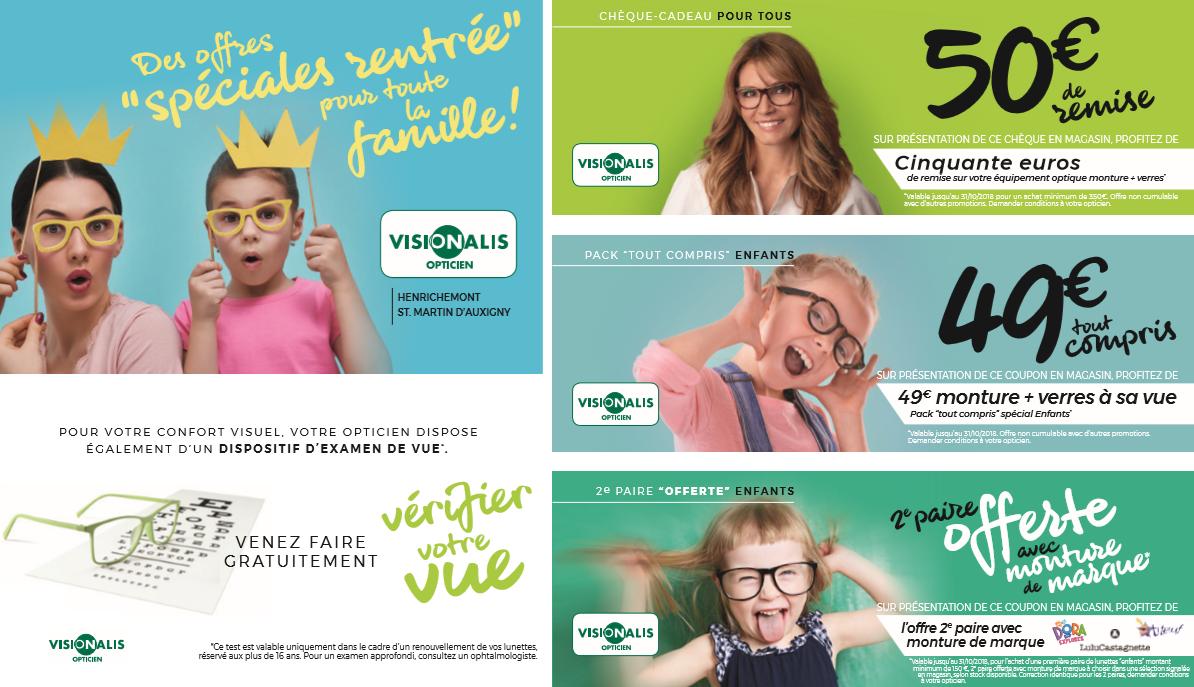 Visionalis offres rentree 2019